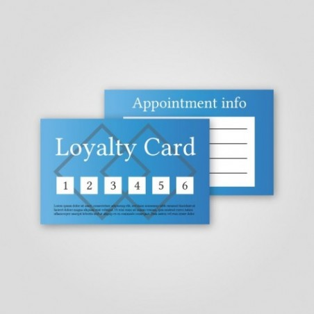 Appointment & Loyalty Cards