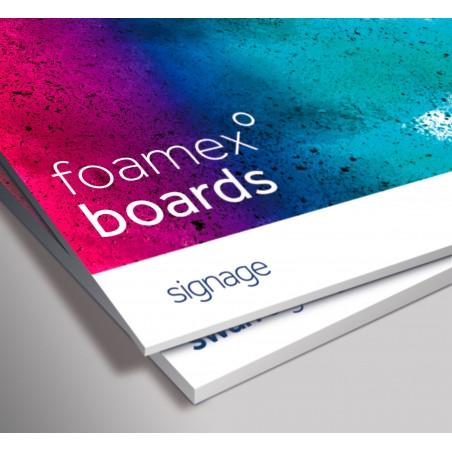 Foamex sign