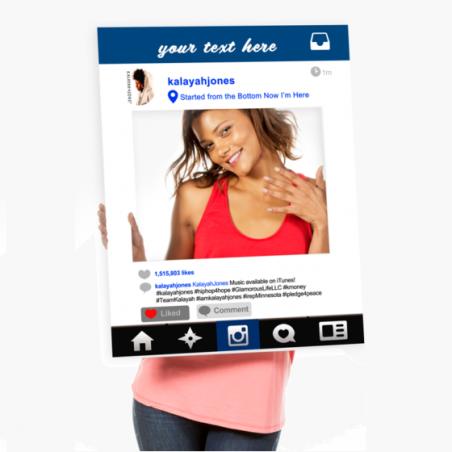 Social Media Selfie Frames