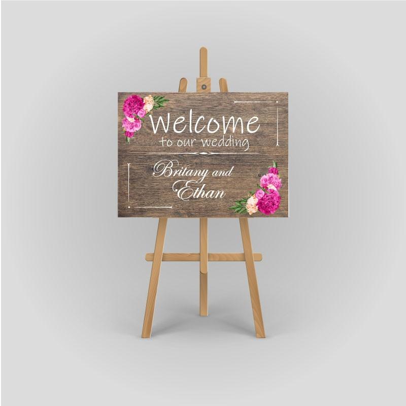 Wedding sign - Foamboard